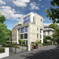 Mehrfamilienwohnhaus in Ffm (Entwurf MSW Architekten)